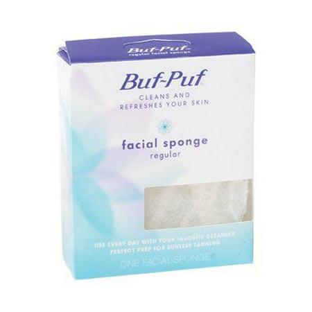 Buf-Puf Regular Facial Sponge, 1 ct.