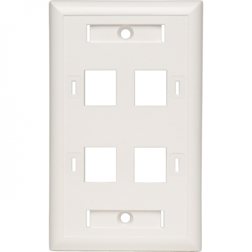 Ultra Minimalist Quad AC Outlet and Maple Wall Plate-shop ...