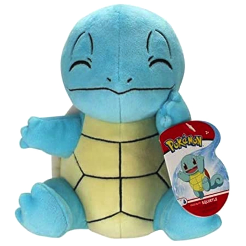 """Pokemon Squirtle Face Cushion Pillow Plush Toy 8"""""""