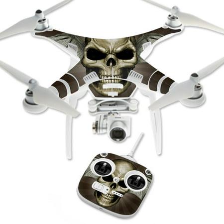 Skin Decal Wrap for DJI Phantom 3 Standard Quadcopter Drone Skeletor