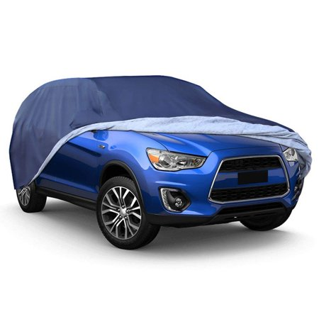 SUV Car Cover Universal Fit All Weather Full Breathable Waterproof Sun UV Rain Snow Dust Wind Outdoor Protection (Fits SUV up to 191