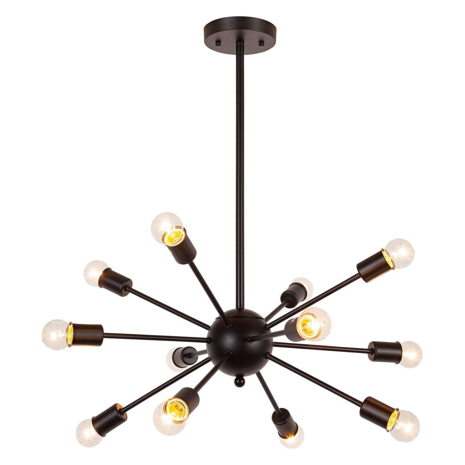 Edgemod Meridia Sputnik Style Chandelier by Ashtead Holdings Inc
