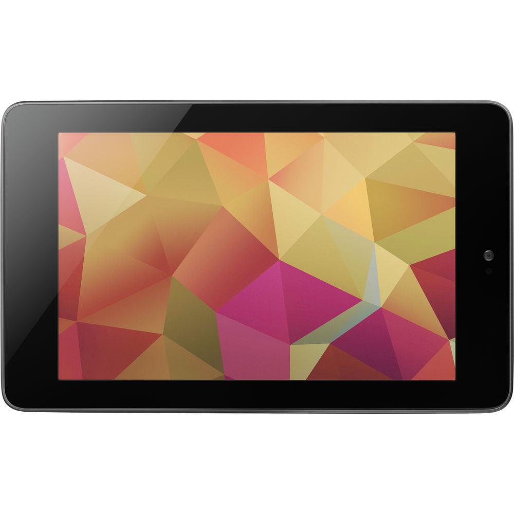 "Refurbished ASUS NEXUS7ASUS-1B16 Google Nexus 7"" Tablet 1GB RAM 16GB Flash HDD, Black"