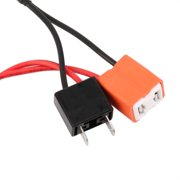 h7 h11 50w 6 ohm led drl fog light load resistor wiring harness dc h7 h11 50w 6 ohm led drl fog light load resistor wiring harness dc 12