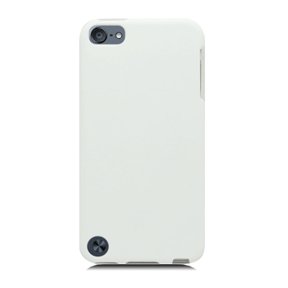 Insten Hard Rubber Coated Case For Apple iPod Touch 5th Gen - White - image 1 of 3