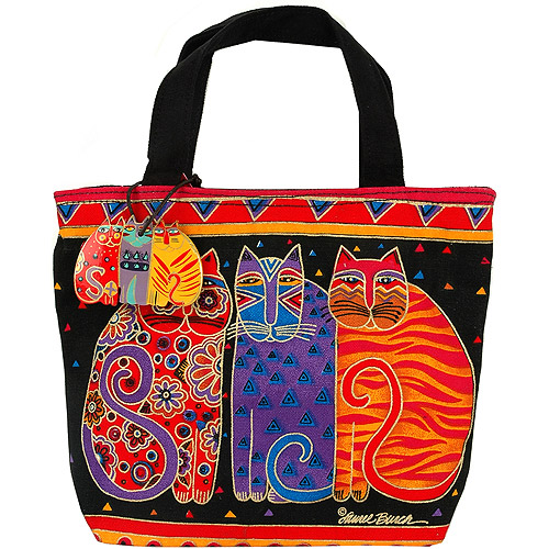 "Feline Friends - Mini Tote 11""X1""X10"""