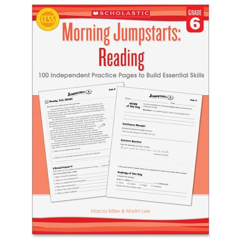 Scholastic Grade 6 Jump Starts Reading Book Education Printed Book - Book - 2 Pages (shs-545464250_35)