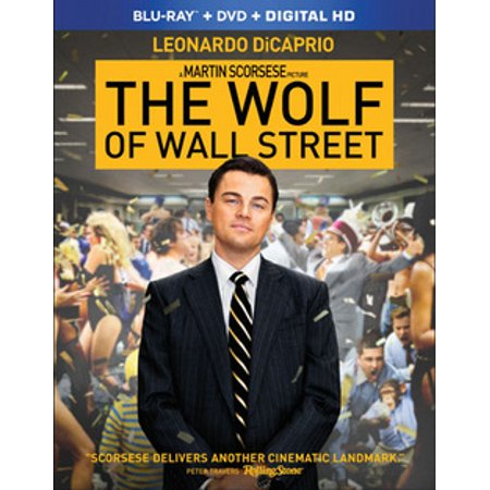 - The Wolf of Wall Street (Blu-ray)
