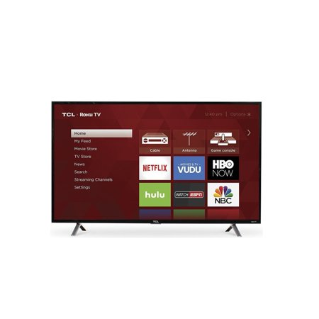 "TCL 49"" Class 4K Ultra HD (2160P) Roku Smart LED TV (49S405)"