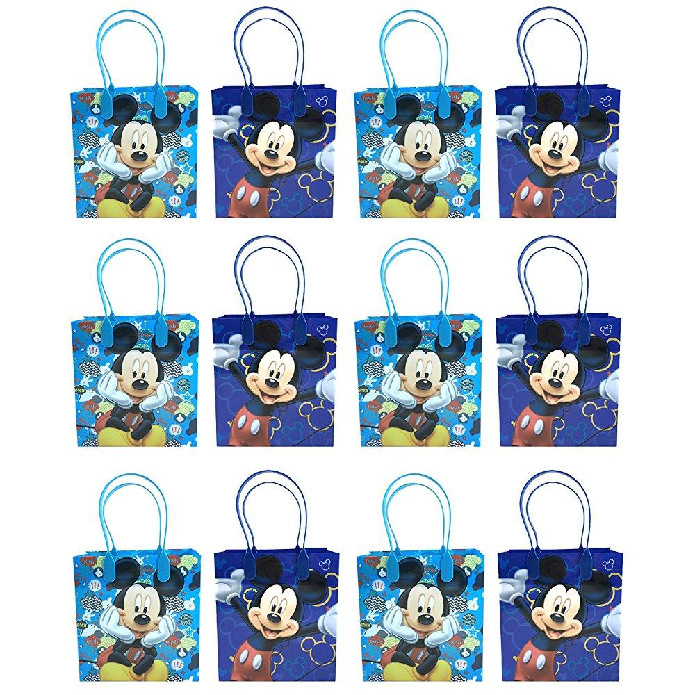 24pc disney mickey mouse goodie bags party favor bags gif...