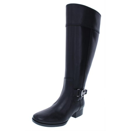 MICHAEL Michael Kors Womens Harland Leather Knee High Riding