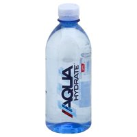AquaHydrate Purified Water with Electrolytes, 16.9 Fl. Oz.