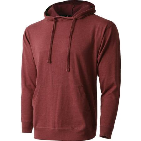 Men's Lightweight Pullover Hoodie Sweatshirt