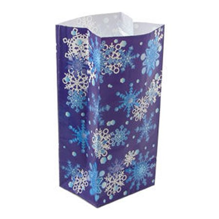 - Paper Snowflake Goody Bag