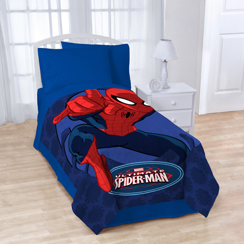 "Spiderman 62"" x 90"" Plush Microfiber Blanket"