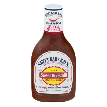 (3 Pack) Sweet Baby Ray's Sweet Chili Wing Sauce & Glaze, 16 fl