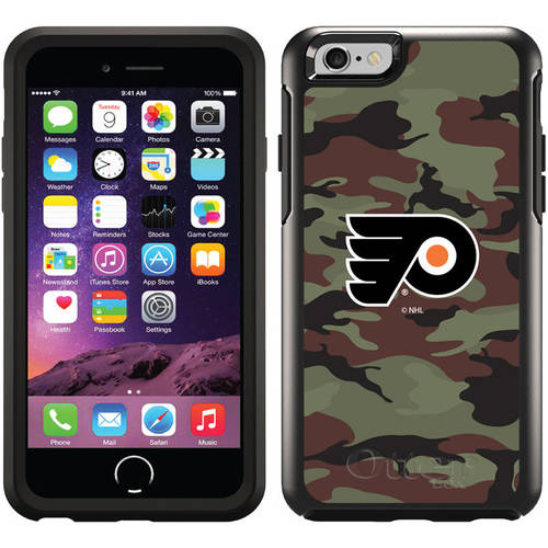 Philadelphia Flyers Traditional Camo Design on OtterBox Symmetry Series Case for Apple iPhone 6