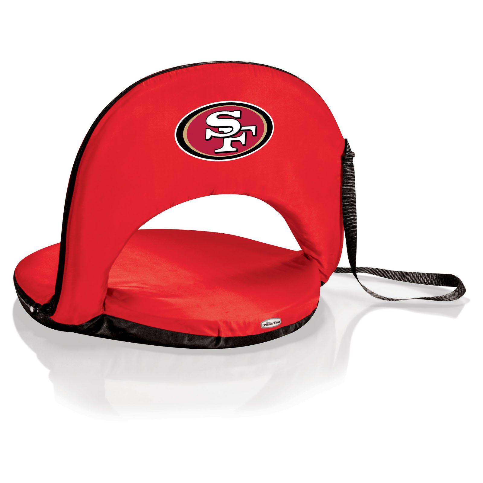 Oniva Reclining Beach Seat With NFL Football Team Logo