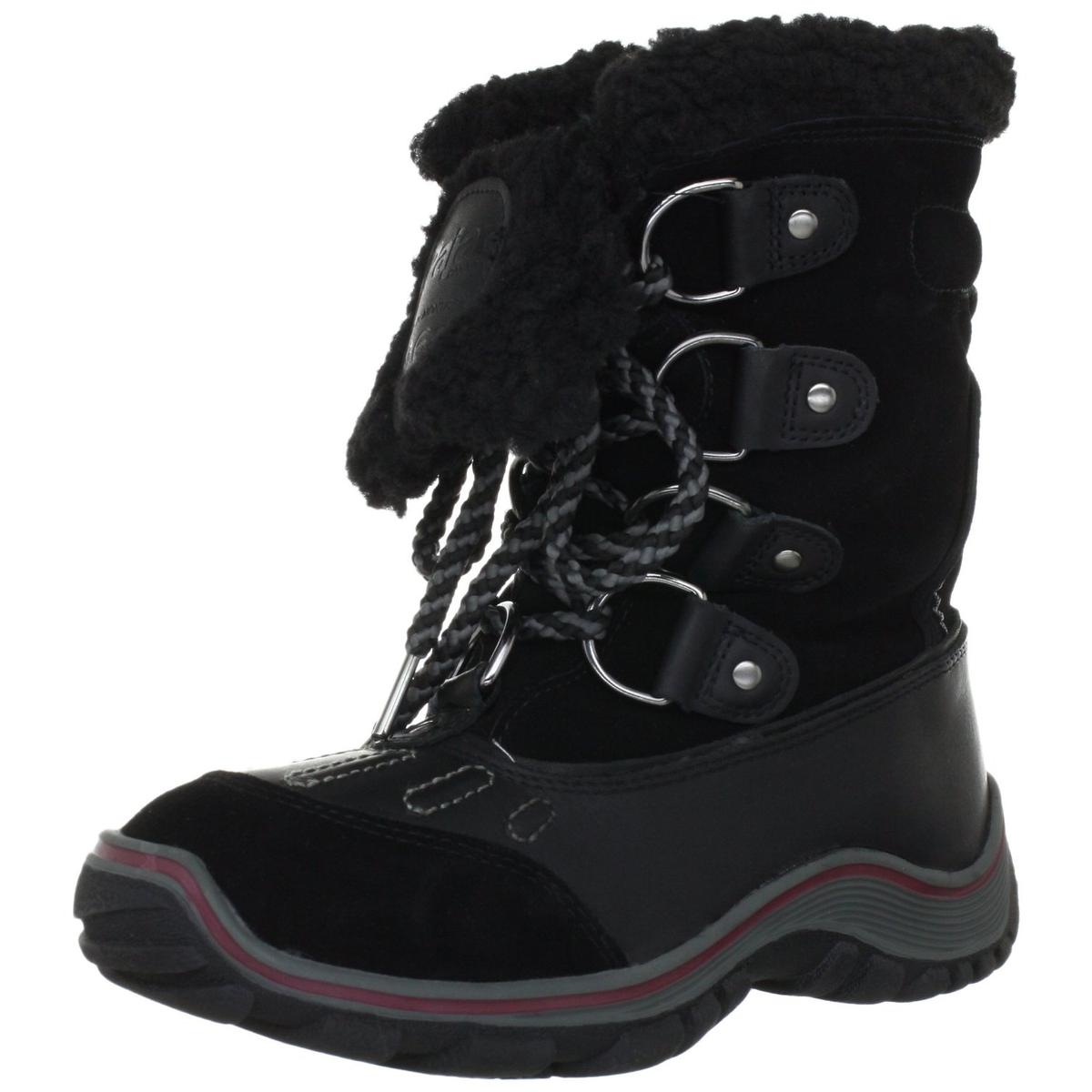 Pajar Womens Alina Leather Waterproof Snow Boots by Pajar