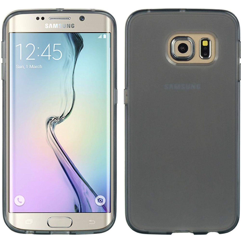 Insten TPU Gel Case Cover For Samsung Galaxy S6 Edge, Smoke