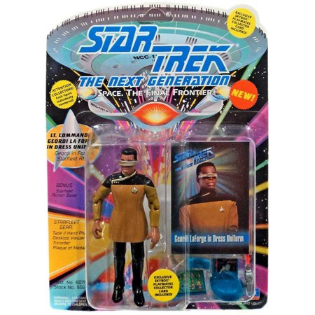 Warp The Next Generation Geordi La Forge In Dress Uniform, Star Trek Next Generation By Star Trek (Star Trek Dress Uniform)