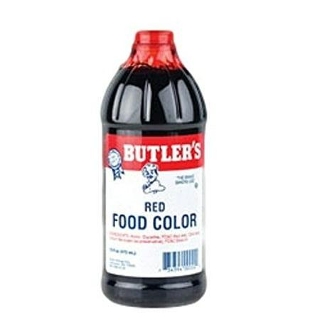 Butlers Red Food Coloring - 16 fl. oz. - Walmart.com