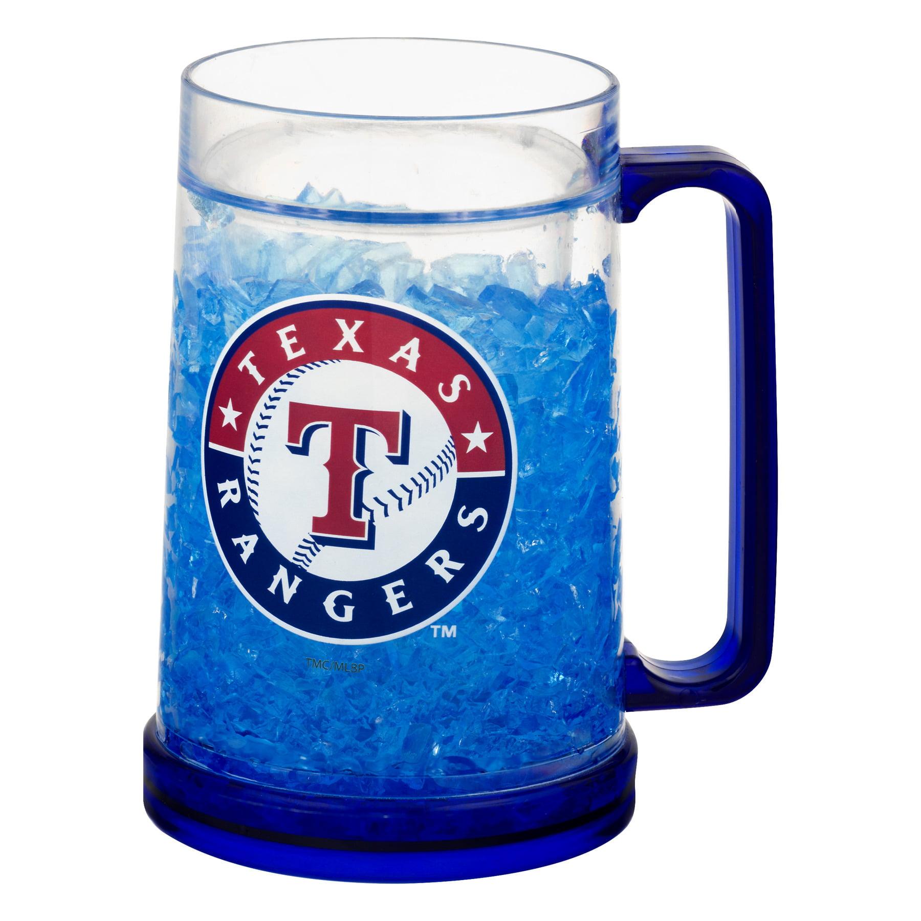 Memory Company LLC MLB Color Freeze Mug Texas Rangers, 1.0 CT