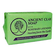 Zion Health Ancient Clay Soap - Rosemary Lavender
