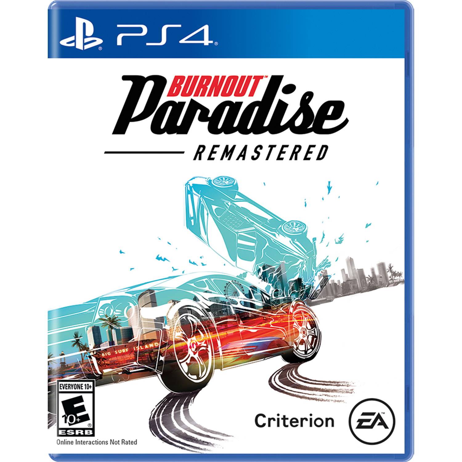 Burnout Paradise Remastered, Electronic Arts, PlayStation 4, 014633738971