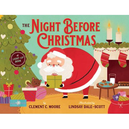 The Night Before Christmas: A Light-Up Book (Board Book) - The Night Before Halloween Is Called