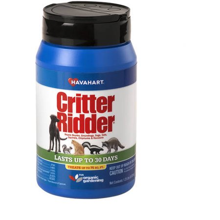 Havahart Critter Ridder 1.25 lb Animal Repellent Granular Shaker