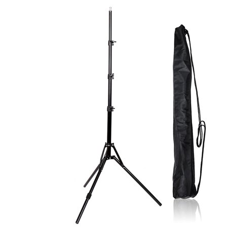Zimtown Professional Photo Photography 2m Light Stand Reflexed Light Stand Black