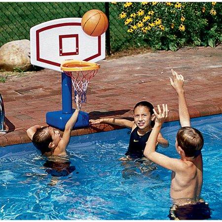 Jammin poolside pool basketball game - Pool basketball ...