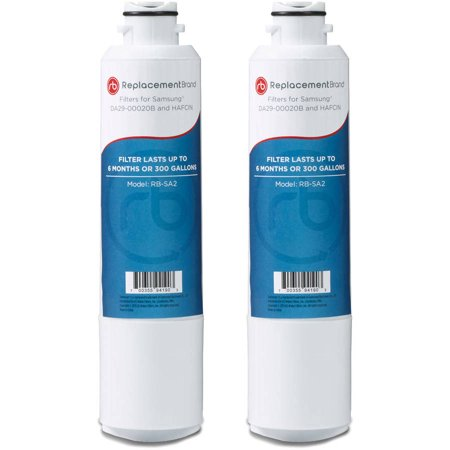 2pk Water Filter Cartridge - Samsung DA29-00020B Comparable Refrigerator Water Filter, 2pk