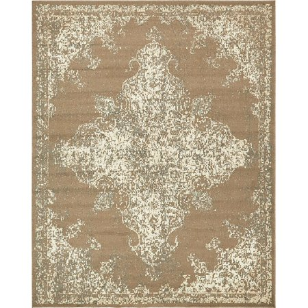 Contemporary Torvis Collection Area Rug in Chestnut Color and Rectangle, Round, Runner, Square Shape