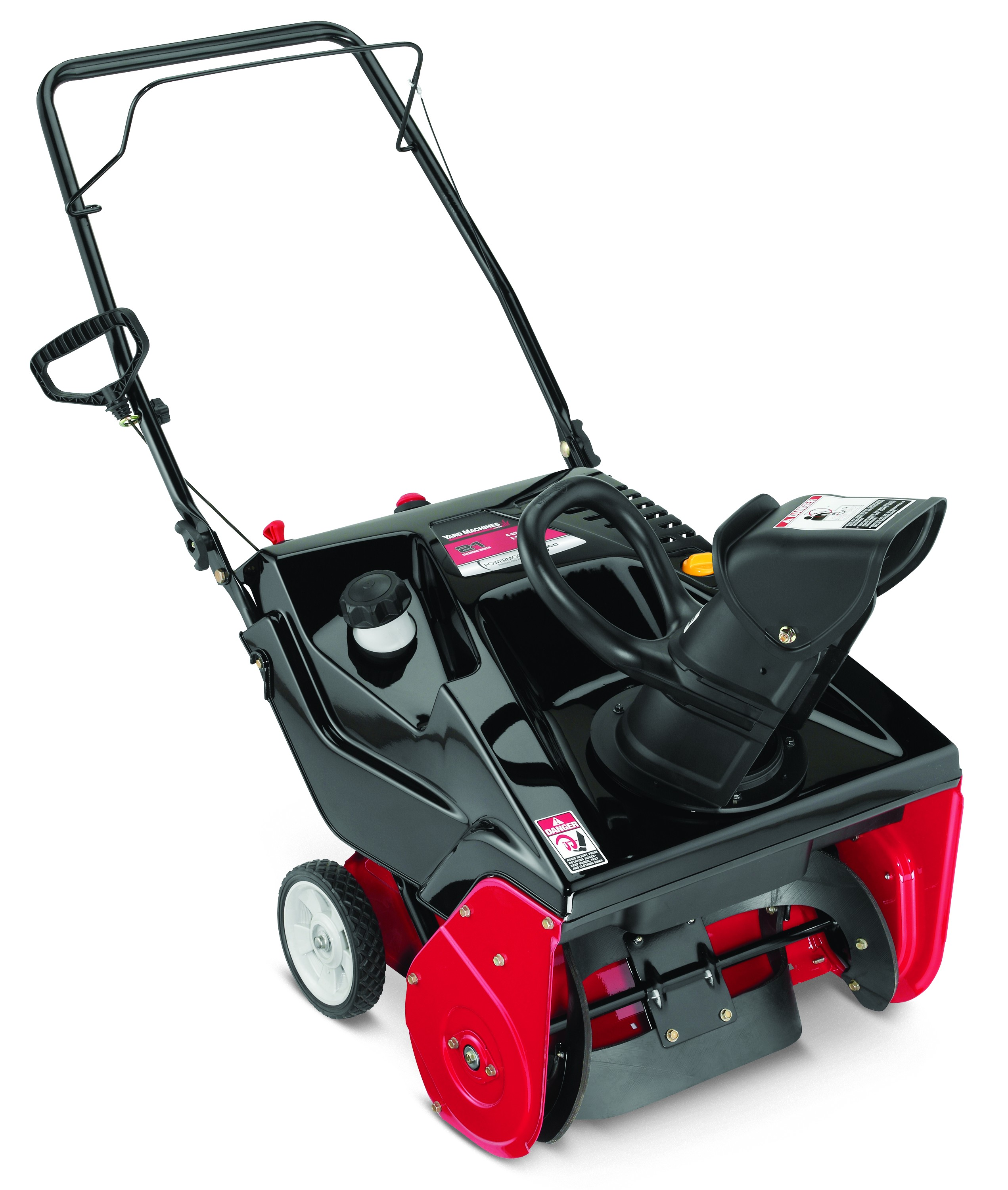 "Yard Machines 21"" 179cc Single-Stage Snow Blower with Electric Start by MTD Products"