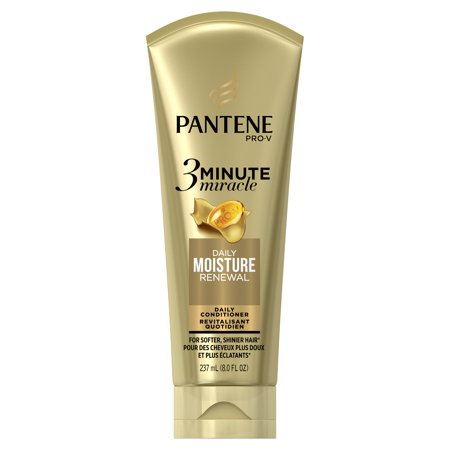 Pantene Daily Moisture Renewal 3 Minute Miracle Daily Conditioner, 8.0 fl (Pantene 3 Minute Miracle Moisture Renewal Deep Conditioner)