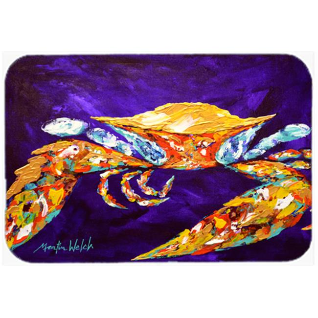 The Right Stuff Crab in Purple Mouse Pad, Hot Pad or Trivet