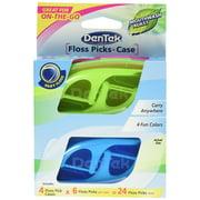 DenTek® On-the-Go 4ct Flosspick & Case