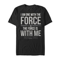Star Wars Rogue One Men's Chirrut Force is with Me T-Shirt
