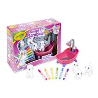 Crayola Scribble Scrubbie Pets Scrub Tub Animal Playset, Gift for Kids, Ages 3+