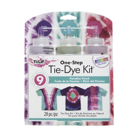 Tulip Medium Paradise Punch Tie Dye Kit, 3 - Tie Dye Kits At Walmart
