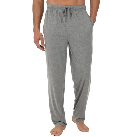 Fruit of the Loom Men's and Big Men's Jersey Knit Pajama Pant Cotton Blend Pajama