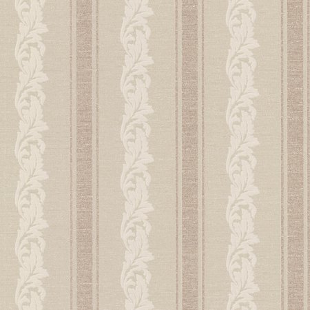 Beacon House Rennie Stripe Scrolling Stripe Wallpaper