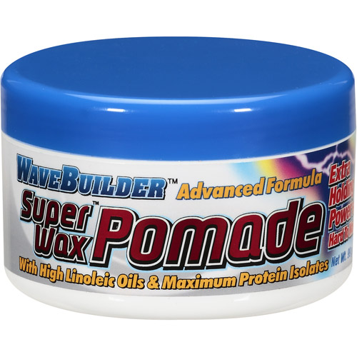 WaveBuilder Super Wax Advanced Formula Pomade, 3.5 oz