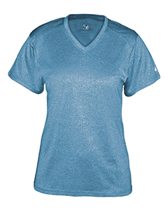 Badger - Pro Women's Heather V-Neck T-Shirt - 4362