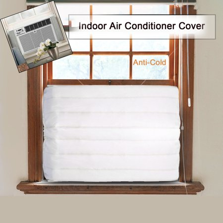 Window Indoor Air Conditioner Cover For Air Conditioner indoor Unit Window Indoor Air Conditioner Cover For Air Conditioner indoor UnitFeature:Inside Dimensions-17  long x 13  high x 2.5  deep.Notes:Please allow 3-5cm errors due to manual measurement.Package Content:1x Window Air Conditioner Cover
