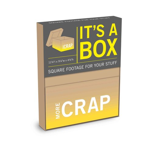 More Crap: Large Boxes