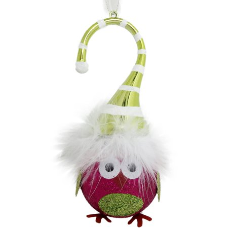 Holiday Time Christmas Ornaments 6-Piece Fuschia / Lime ...