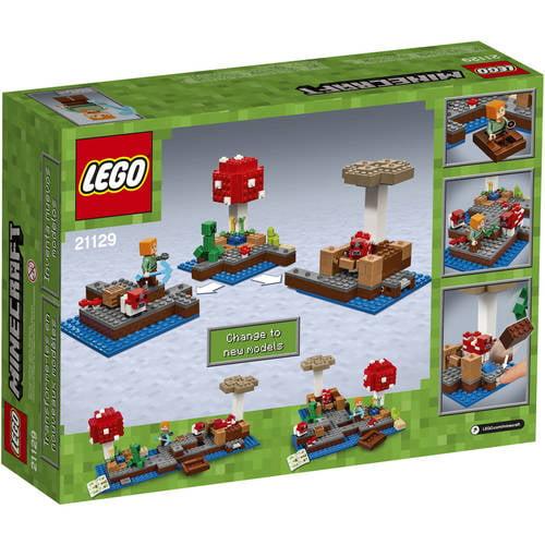 LEGO Minecraft The Mushroom Island (21129) - Walmart.com